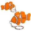 Clown Fish Stress Reliever Key Chain