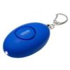 Soft-Touch LED Light & Alarm Key Chain