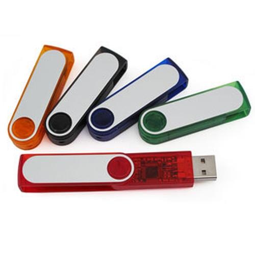 4 GB USB Swivel 200 Series Hard Drive