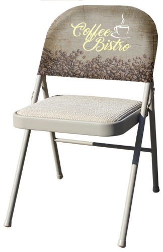 Stretch Fabric Chair Advertising Covers