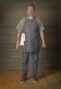 New Kitch Style Bib Apron - Denim With Grommets