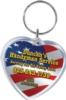 Heart Shaped Acrylic Key Tag