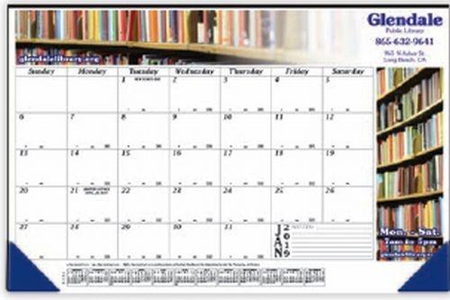 12 Month Full Color Desk Calendar (17