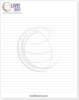 50 Sheet Scratch Pad (3 1/16