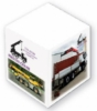 Non-Adhesive Cube Pad w/ Full Color (3 3/8