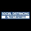 Stay Safe Floor Decals (3 3/4
