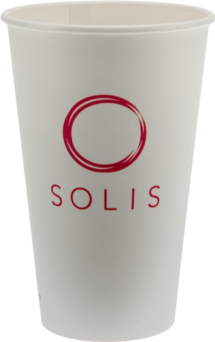 16 oz  Eco-Friendly Paper Cup - White - Tradition