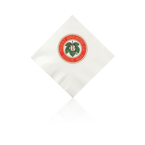 Beverage Napkin - White - Tradition