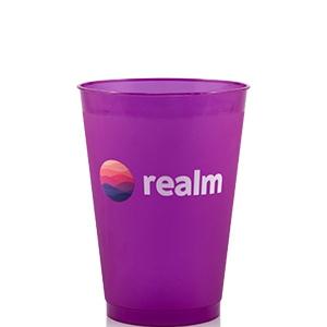12 oz Colored Frost Flex™ Cup - Purple - Digital