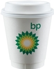 12 Insulated Paper Cup - White - Digital