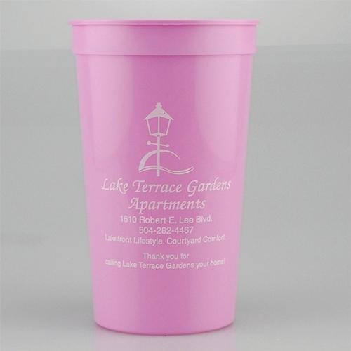 22 oz Stadium Cup - Pink - Tradition