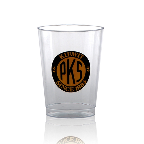 10 oz Clear Fluted Plastic Cup - Tradition
