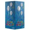 Table Luminary Card Stock 12pt 4 Sided Balloon 4.25