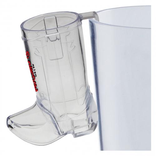 2 Oz. Hook Cowboy Boot Shot Glass
