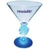 10 Oz. Plastic Lighted Novelty Stem Martini Glass