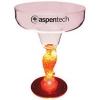 12 Oz. Plastic Lighted Novelty Stem Margarita Glass