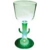 7 Oz. Plastic Light-Up Novelty Stem Wine Glass