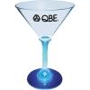 7 Oz. Martini Glass w/ Light Up Contrast Standard Stem