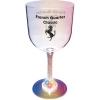 14 Oz. Goblet Glass w/ Light Up Contrast Standard Stem