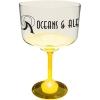 18 Oz. Margarita Glass w/ Light Up Contrast Standard Stem