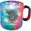 12 Oz. Light-Up Plastic Coffee Mug w/Handle
