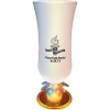 15 Oz. Plastic Lighted Palm Tree Stem Hurricane Glass