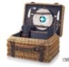 Champion Picnic Basket - Willow Basket w/Deluxe Picnic Service For 2