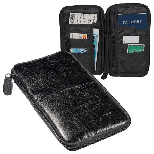 Sorrento RFID Travel Pouch