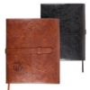 Sorrento Refillable Journal with Business Card Organizer