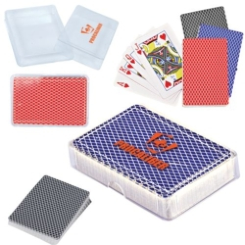 Playing Cards in Case