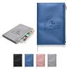Softbound Metallic Foundry Journal with Zipper Pocket