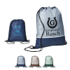 Delphine Non-Woven Drawstring Backpack