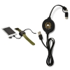 Duo Wireless Charging Pad with Integrated Charging Cable