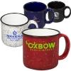 15 oz. Campfire Ceramic Mug - White