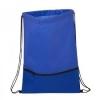 Texture Pocket Non-Woven Drawstring Backpack