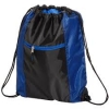 Porter Collection 210D Polyester and Mesh Pattern Drawstring Bag