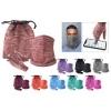 Heathered Glove & Gaiter Set in a Pouch