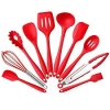 Silicone Straw with Utensil Set