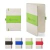 5x7 Soft Cover PU & Heathered Fabric Journal