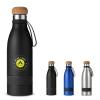 19 oz. Double Wall Vacuum Bottle with Cork Lid
