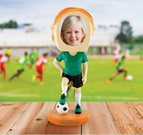 Girl's Softball Bobblehead -DST
