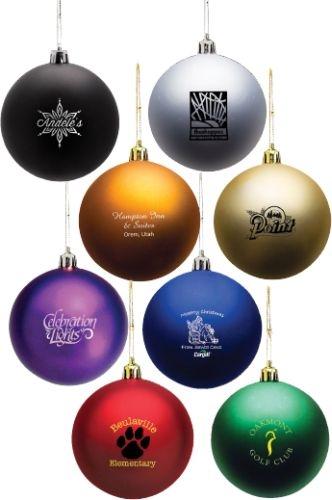 Shatter Resistant Ornament
