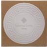 Round Greek Key Absorbent Stone Coaster
