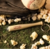 Light Up Baseball Bat Keytag