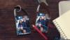 Carabiner Snap-In Photo Flashlight Keytag