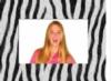 Zebra Paper Easel Frame