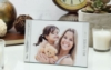 4 x 6 Three Piece Brushed Silver Clip Frame