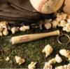 Baseball Bat Key Tag