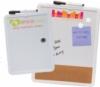Magnetic Dry Erase & Cork Board