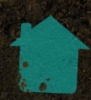 House Seed Shape Bookmark
